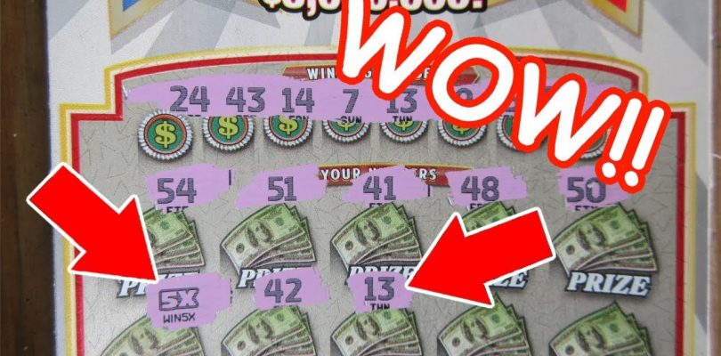 ANOTHER BIG WIN!!..2 IN ONE WEEK!!..LOTTERY TICKET SCRATCH OFF PROFIT SESSION!!
