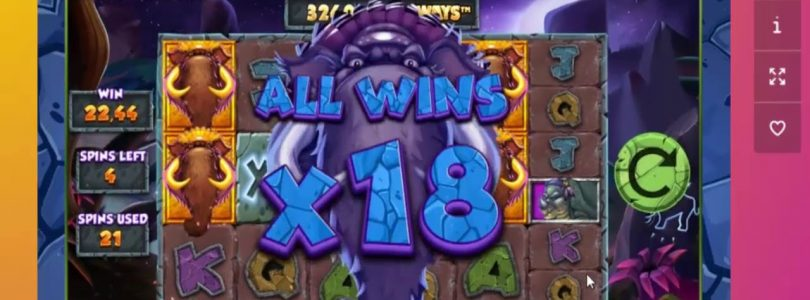 MEGA BIG WIN — PRIMAL MEGAWAYS — 730X HUGE WIN!!!