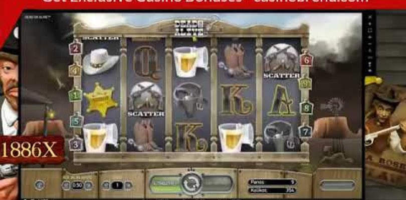 Top 3 Ultra Big Win On Dead Or Alive Slot