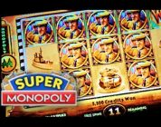 SUPER MONOPOLY — PART 2 of 3 | WMS — SUPER Big Win! Slot Machine Bonus (Hot Days Theme)