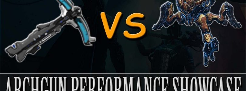 Warframe — Arch-Gun Performance Showcase (Profit-Taker Orb)