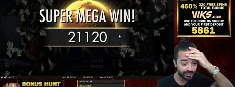 MUST SEE RECORD WIN!! NEVER SEEN ON SLOT INVISIBLE MAN — EPIC!