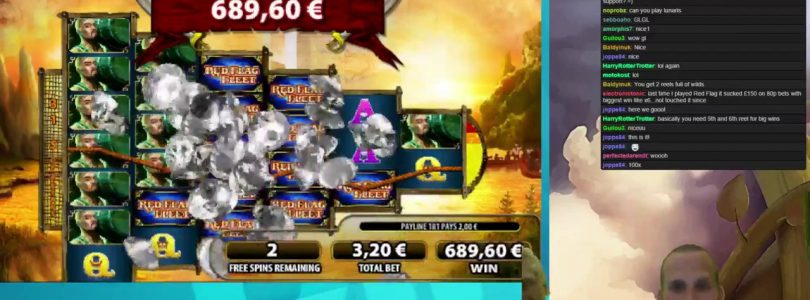 Red Flag Fleet — €3.20 Bet Bonus Game Big Win on First Spin!