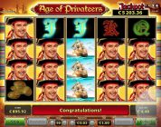 Big win on Age of Privateers from Novomatic on Ovo Casino, €1 bet