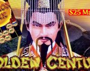 DRAGON LINK Golden Century Slot Machine — BIG WIN- $25 Max Bet BONUS | LIVE Slot Play w/NG Slot