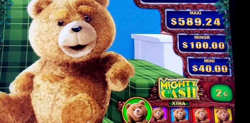 TED Mighty Cash Slot Machine $8 Bet Bonus & MIGHTY CASH Feature | Live Slot Play In Las Vegas w/NG