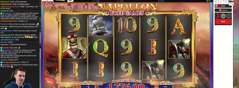 NickSlots NAPOLEON: RISE OF AN EMPIRE BIG WIN 1800 GBP