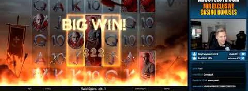 Vikings Big Win — HUGE WIN on Casino Game from CasinoDaddy1.mp4