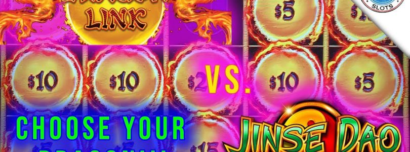 Big Win on Dragon Link Happy Prosperous or Jinse Dao? Fun Session! Which Slot is Better?