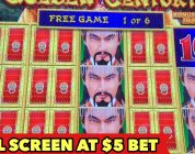 ⭐️DRAGON LINK $5 BET⭐️ IT'S FULL SCREEN BUT WHAT IS IT?! | SUPER BIG WIN | PUMPKIN POWER BONUS SLOT