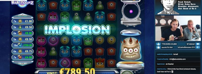 BIG WIN!!!! Reactoonz Big win — Casino — Bonus Round (Online Casino)