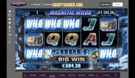Girls With Guns Slot — Frozen Dawn SUPER BIG WIN €1687!!! with Magnetic Wilds!
