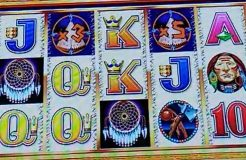 Big Win on a Super Game Retrigger $$ Indian Dreaming Tall Fortune