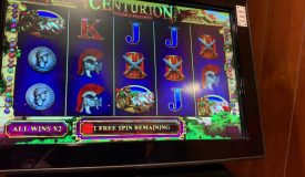 Centurion £2 stake Feature Big Win ?? arcade quick clip