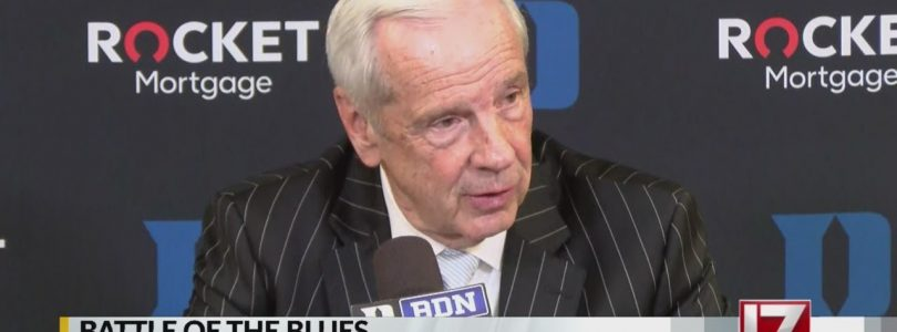 Roy Williams speaks after big win at Duke