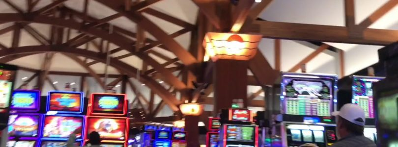 Playing slots at soaring eagle casino! Big wins!