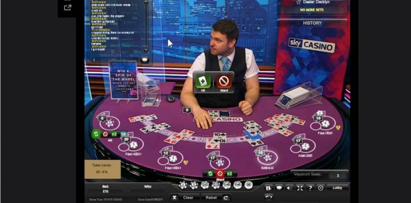 Sky Casino Big win on Blackjack promotion 'The Wheel'