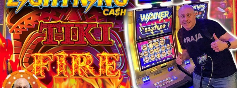 ✦ $25 HIGH LIMIT ✦ Lightning Cash Tiki Fire Mini Bonus ⚡JACKPOT! | The Big Jackpot