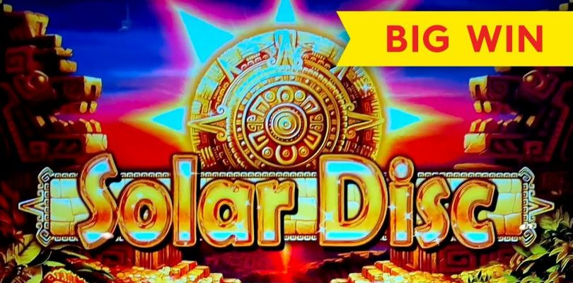 Solar Disc Slot — BIG WIN BONUS, AWESOME!