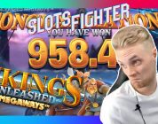 BIG WIN On Vikings Unleashed Megaways Bonus!!!