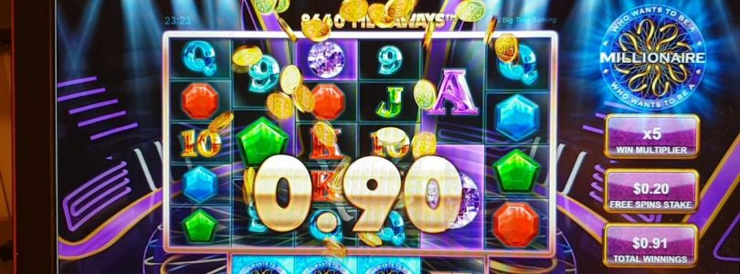 Who wants to be a millionaire online casino BIG win 0.20$