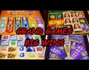 TARZAN, TIMBERWOLF, BUFFALO, FIVE DRAGONS GRAND GAMES — BIG WINS