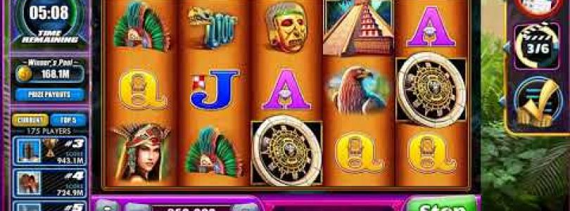 Montezuma WMS Slot BONUSES!!! BIG WIN — Jackpot Party Facebook Casino
