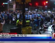 UNC fans react after big win over Duke