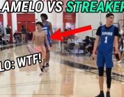 LaMelo Ball Has To Battle A STREAKER!!! Melo Leads Spire To BIG WIN After WEIRD INCIDENT!!!