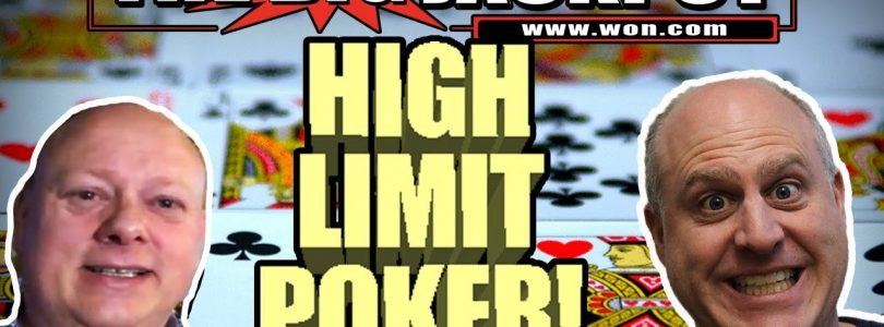 High Betting Poker $1250/spin with SPECIAL GUEST PAUL NEWEY ✦ BIG WIN$ | The Big Jackpot