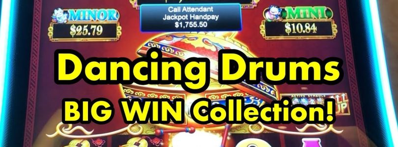 Dancing Drums BIG WIN Collection! (includes jackpot handpays)