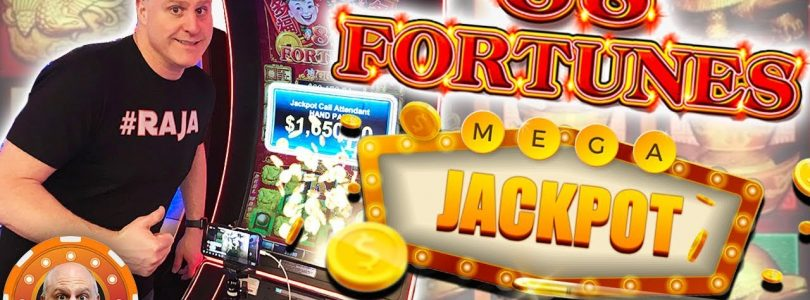 $44 BET ✦ High Limit Jackpot ✦ 88 Fortunes ➡️ 10 FREE GAME$ | The Big Jackpot