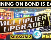 SUPER BIG WIN on CASINO ROYALE SLOT MACHINE! MOHEGAN MONDAYS Ep. 12