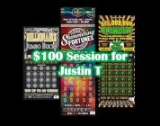 $100 Session for Justin T!! Can we find him a BIG WIN??