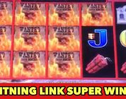 ⭐️LIGHTNING LINK FRENZY⭐️ SUPER BIG WIN COMPILATION SLOT MACHINE BONUS