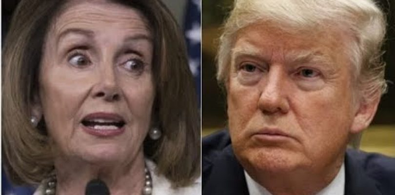 BREAKING : Trump Gets Big Win On Border Wall As 30 House Democrats Call On Pelosi To -Fund The Wall-