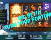 Big Bet!! Turn Your Fortune Slot Gives Big Win!!