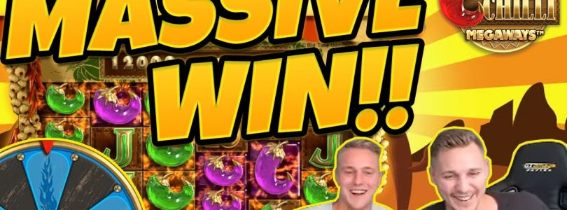 MASSIVE WIN!! Extra Chilli BIG WIN — Epic WIn on Casino games from Casinodady LIVE STREAM
