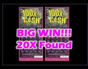BIG WIN!!!! California 100X The Money Ticket!!!