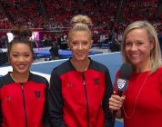 MaKenna Merrell-Giles and Kari Lee share thoughts, emotions following big win over No. 9 Michigan