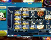 ♘ Europa Casino | White King Slot Game | Mega Big Win 55250 Euro ♘