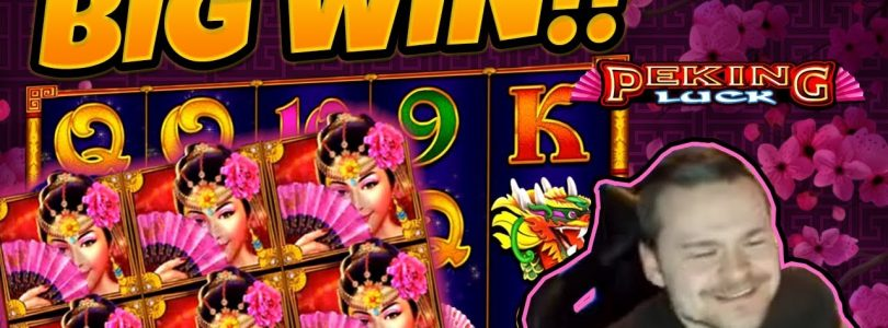 MASSIVE WIN!! Peking Luck BIG WIN — Epic WIn on Casino games from Casinodady