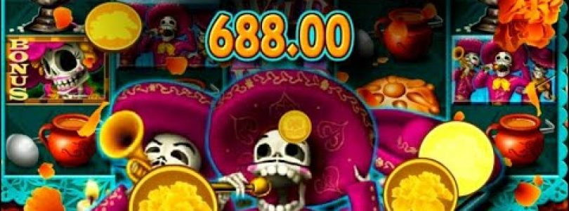 Big win on Day of the Dead slot wins today