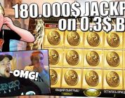 600000X JACKPOT ON STREAM! *NOT CLICKBAIT* 180.000$ FROM 0.3$ BET! BIG WINS OF THE WEEK! #5
