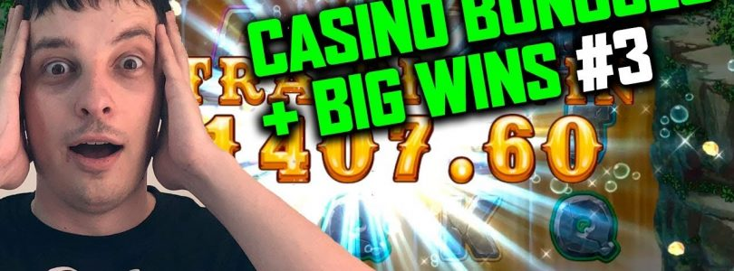 CASINO BIG WINS AND BONUSES FROM MY LIVE STREAM #3