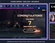 Highlight: Big Win on Vikings Bonus round after a Blitz Mode Burn for a 186x win on NetEnt