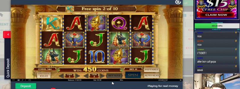 SLOT ONLINE BIG WIN X130 ON BOOK OF DEAD FREESPINS