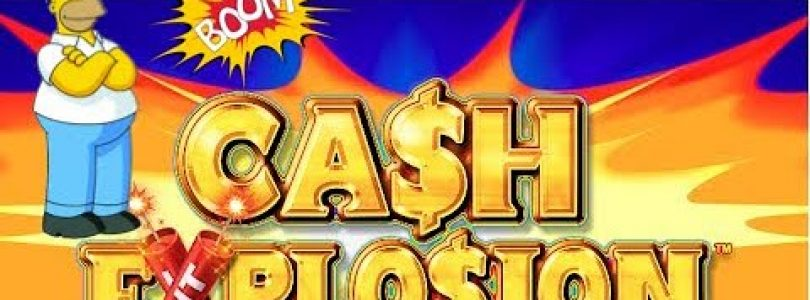 Huge win on Cash Explosion at Rivers Casino on max bet $7.20 a spin.