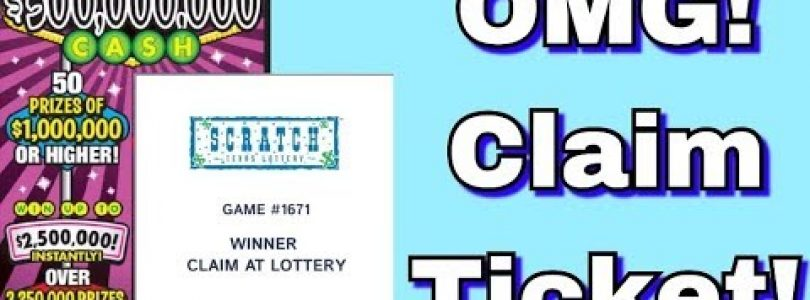 HUGE WIN! CLAIM TICKET! $200 SESSION! TEXAS LOTTERY SCRATCH OFF TICKETS!