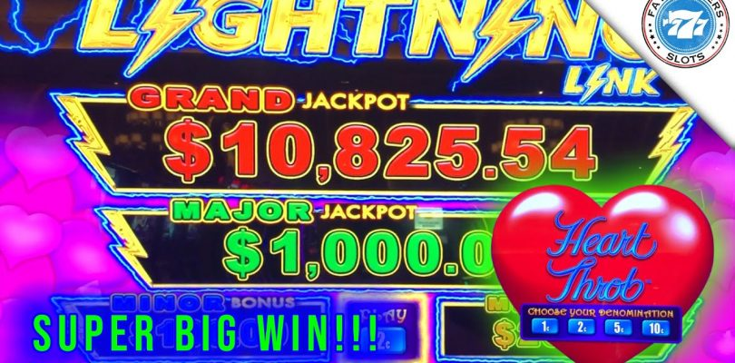 Lightning Link Heart Throb Slot! SUPER SUPER BIG WIN!!! Great Session! EPIC WIN! Major Jackpot?
